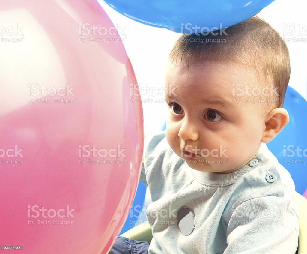 Balloon Boy royalty-free stock photo