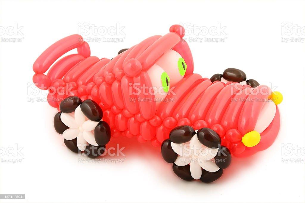 balloon car stock photo