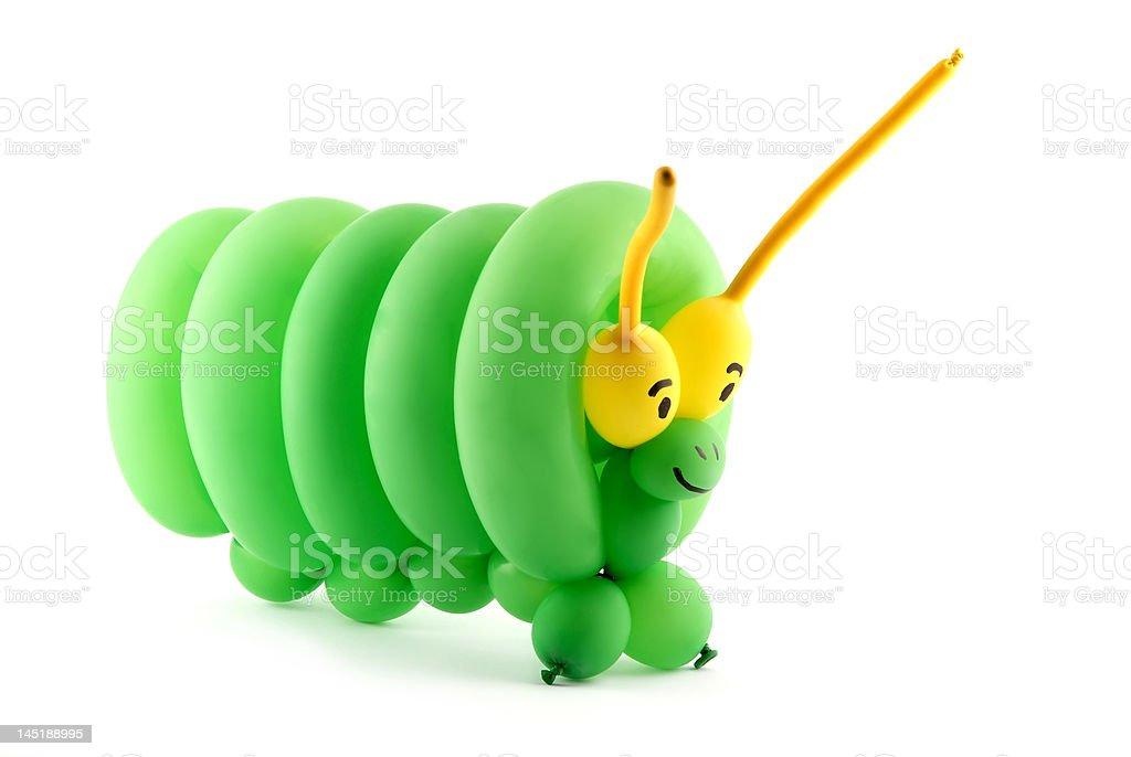 Balloon caterpillar stock photo