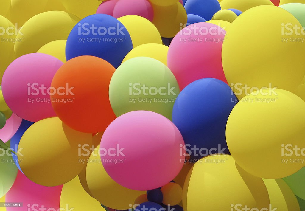 Balloon Cluster royalty-free stock photo