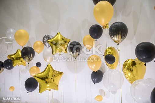 815229514 istock photo Balloon decoration for party 628317506