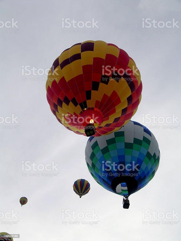 Balloon Festival stock photo