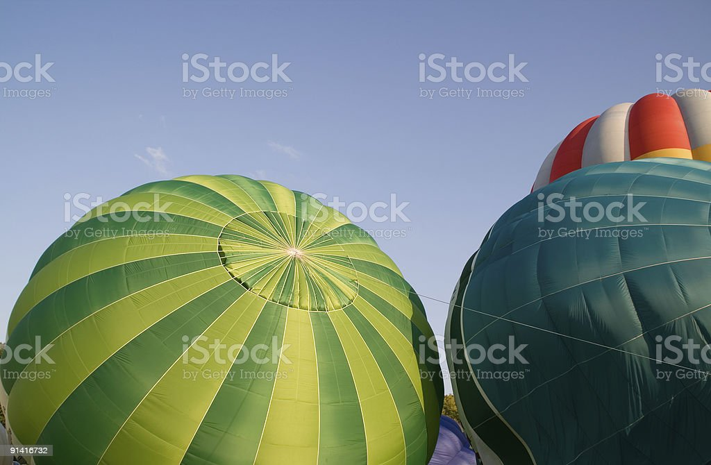 Balloon festival stock photo