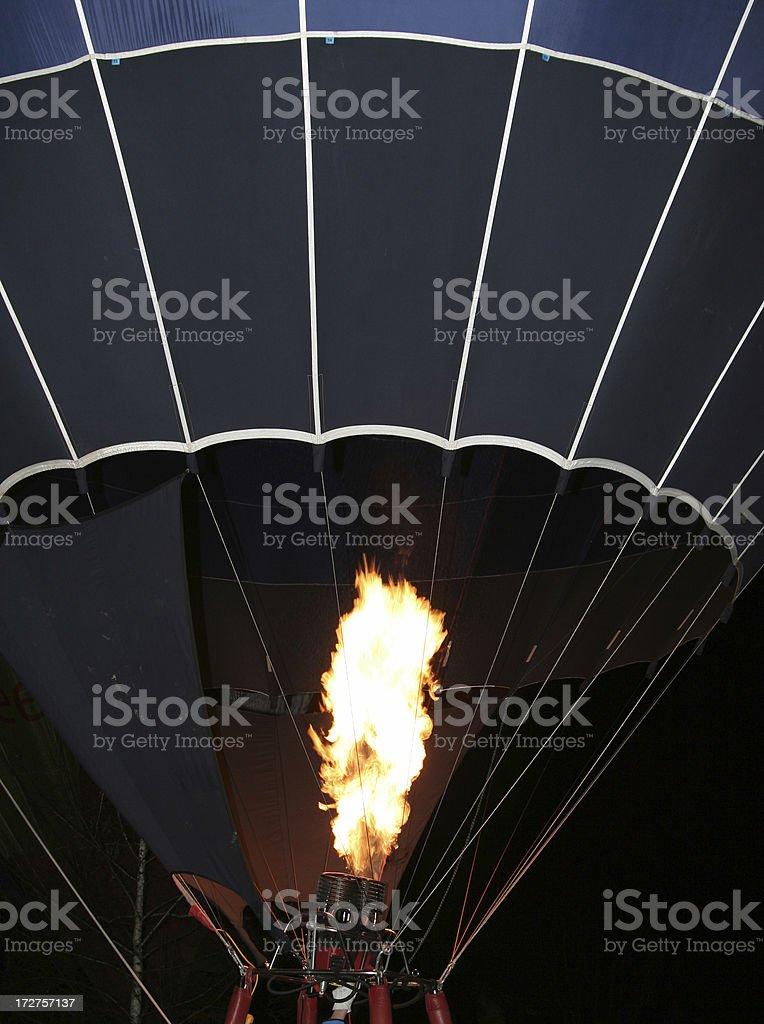 Balloon flame 3 royalty-free stock photo