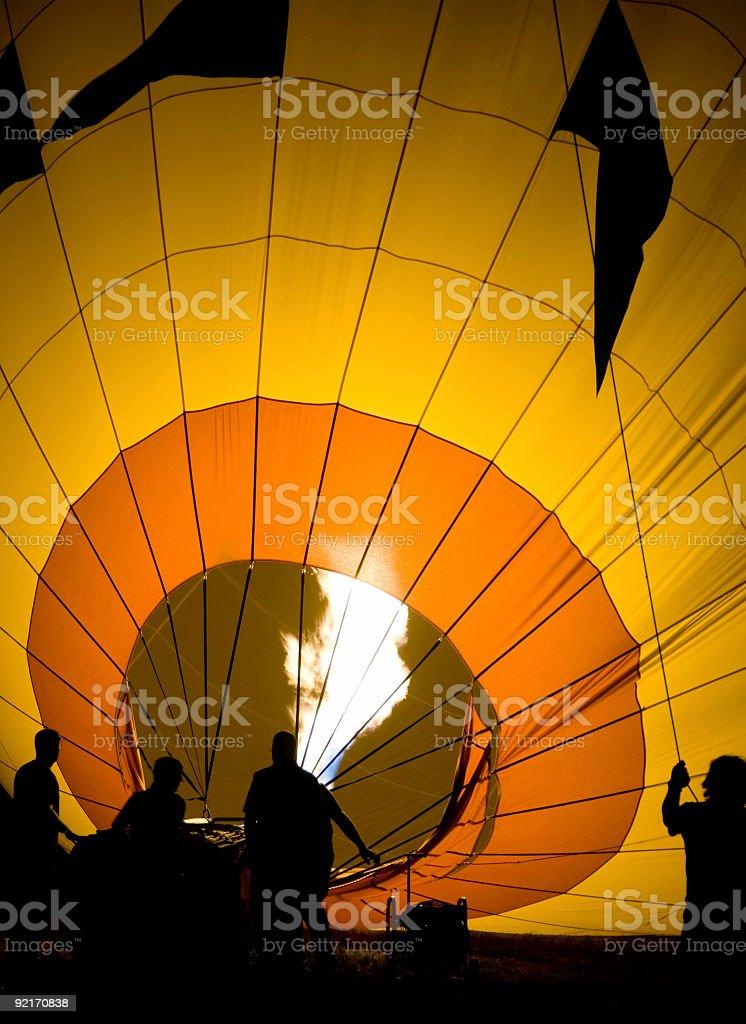 Balloon Glow royalty-free stock photo