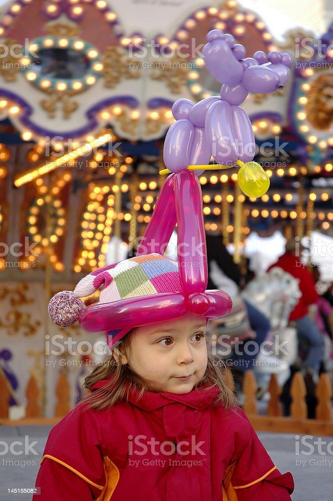 Balloon Hat stock photo