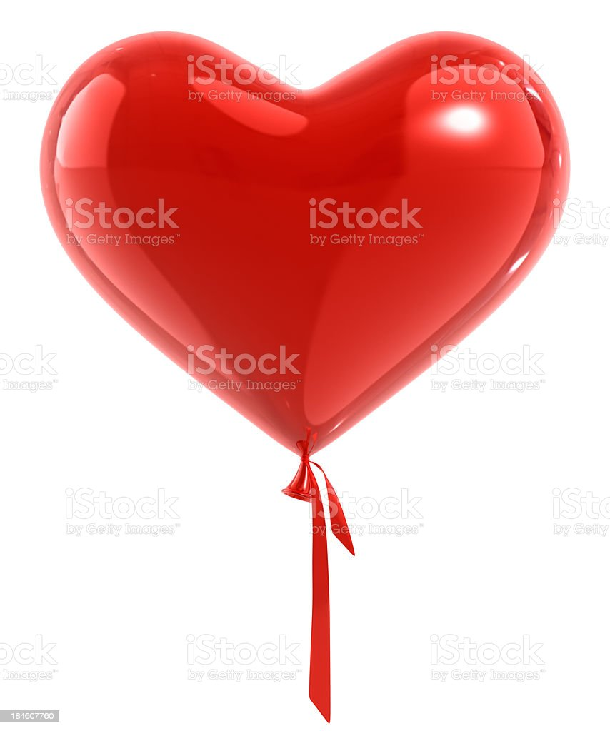 Balloon Heart royalty-free stock photo