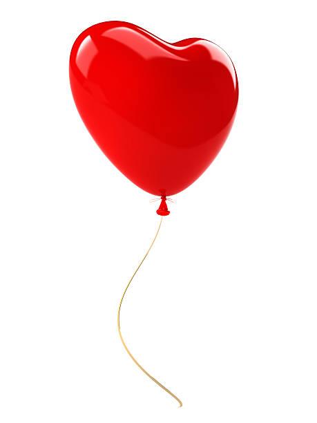 Balloon Heart stock photo