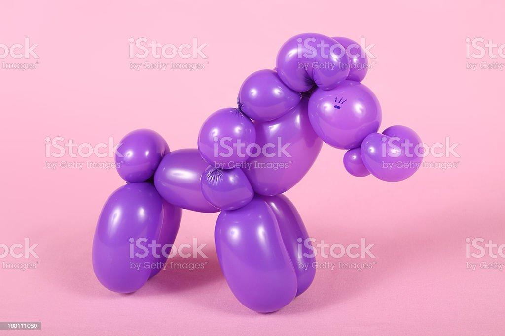 Balloon horse stock photo