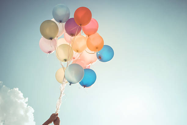 balloon in party - foto de acervo