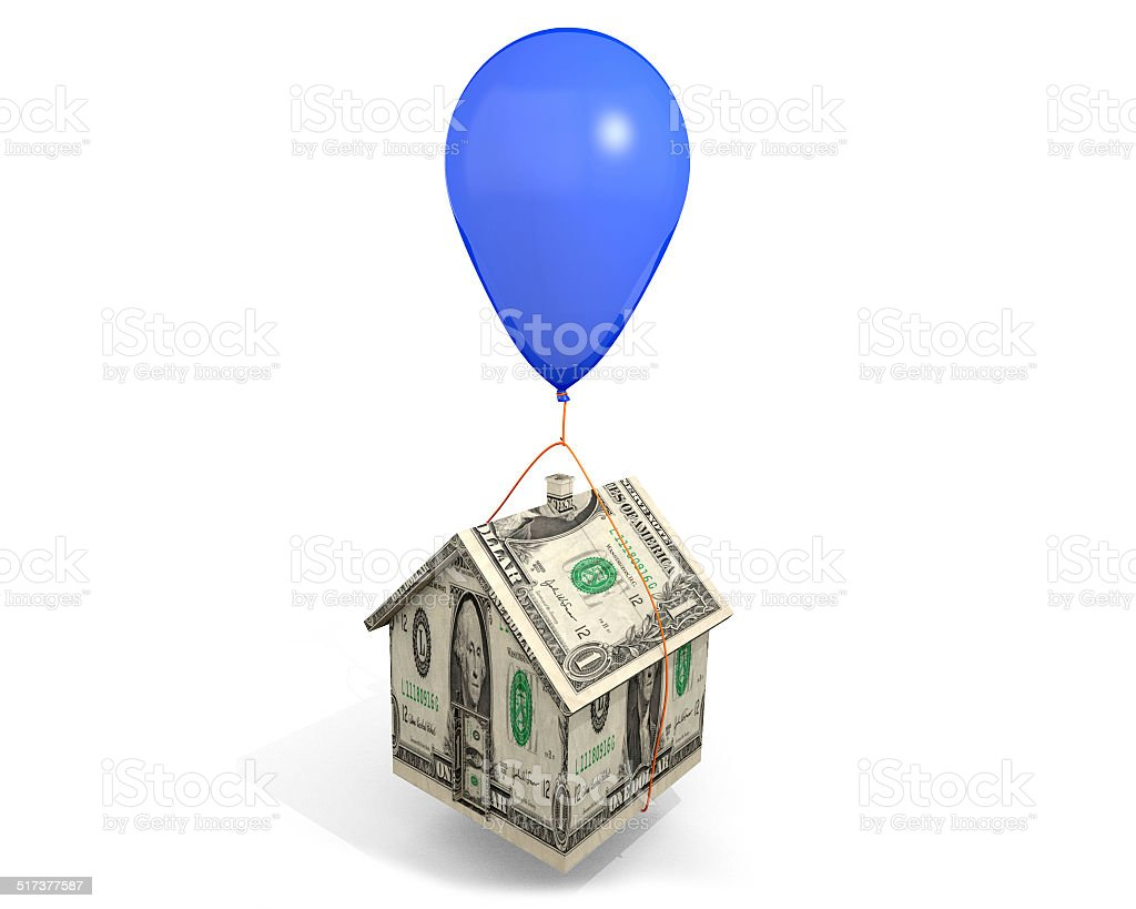 Balloon Mortgage stock photo