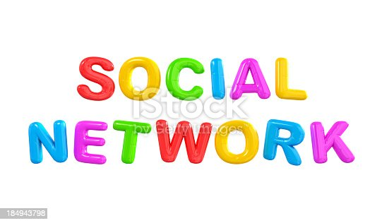 511983702 istock photo SOCIAL NETWORK Balloon Networks. 184943798