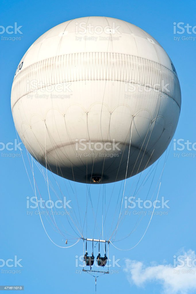 balloon - Aussichtsballon in Prag royalty-free stock photo