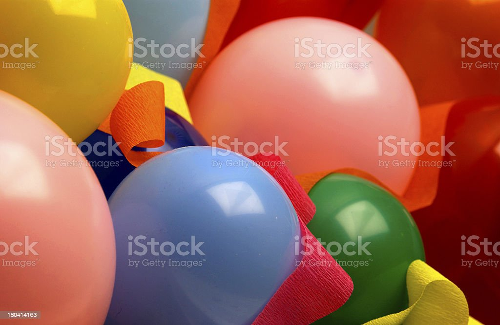 Balloon pattern stock photo