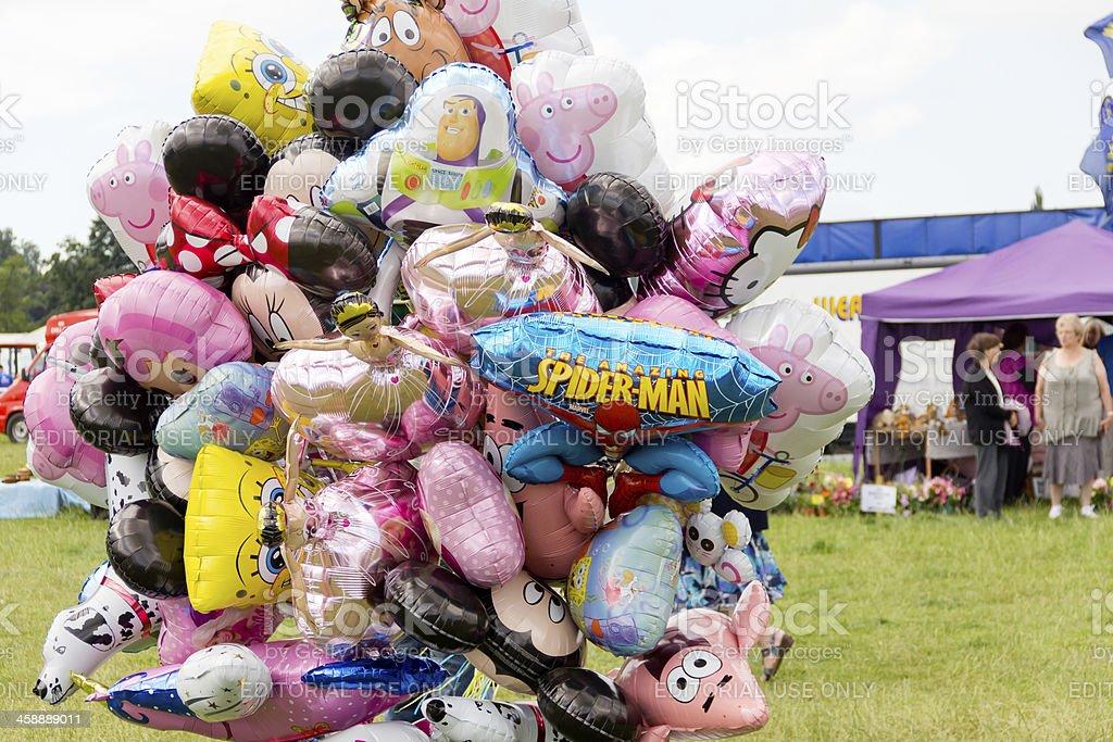 Vendedor de Balão. - foto de acervo