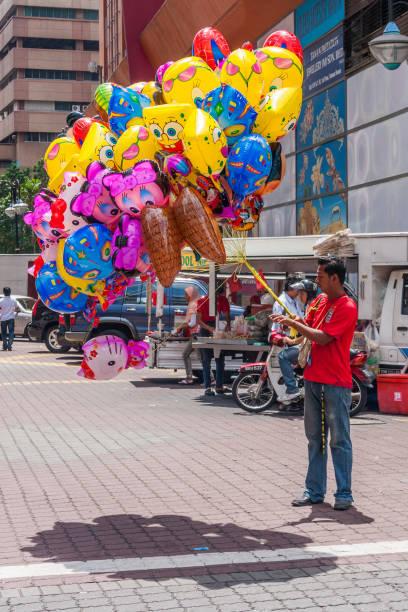 Ballonverkäufer – Foto