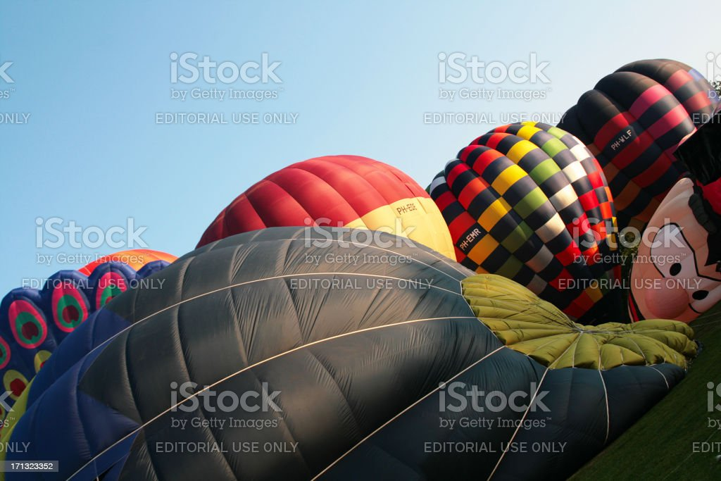 Ballooning festival stock photo