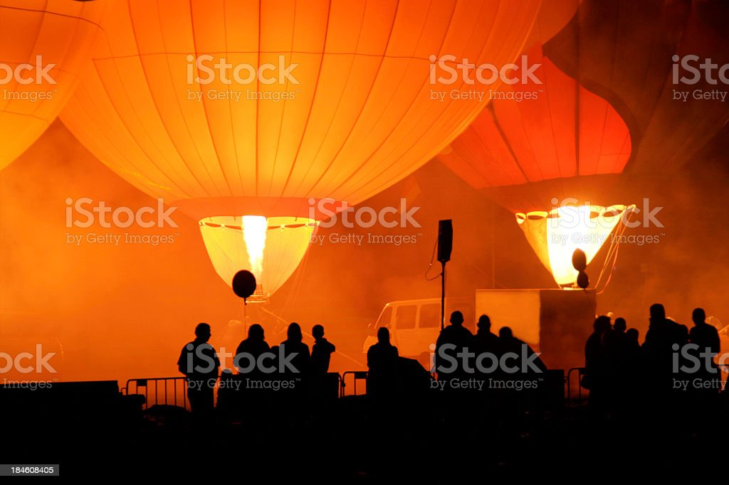Ballooning stock photo