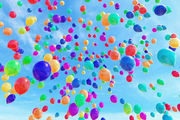 Balloons A1 stock photo