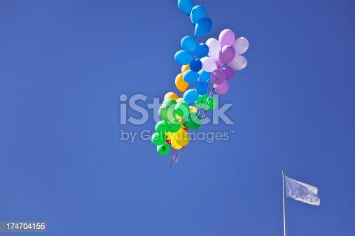 istock Balloons above Oslo. 174704155