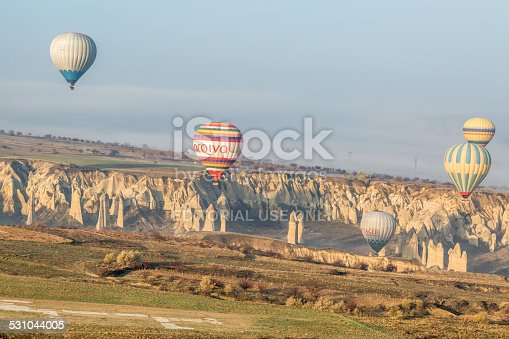 istock balloons and a strange landscape shaped by volcanoes 531044005