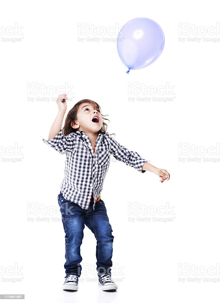 Balloons are so fun! stock photo