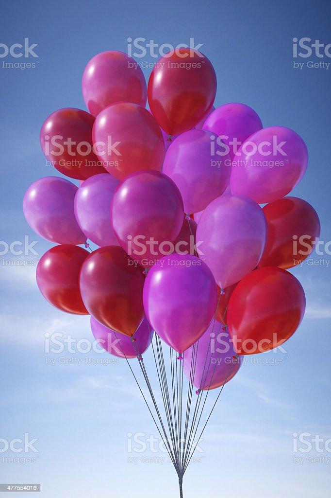 Balloons B18 stock photo