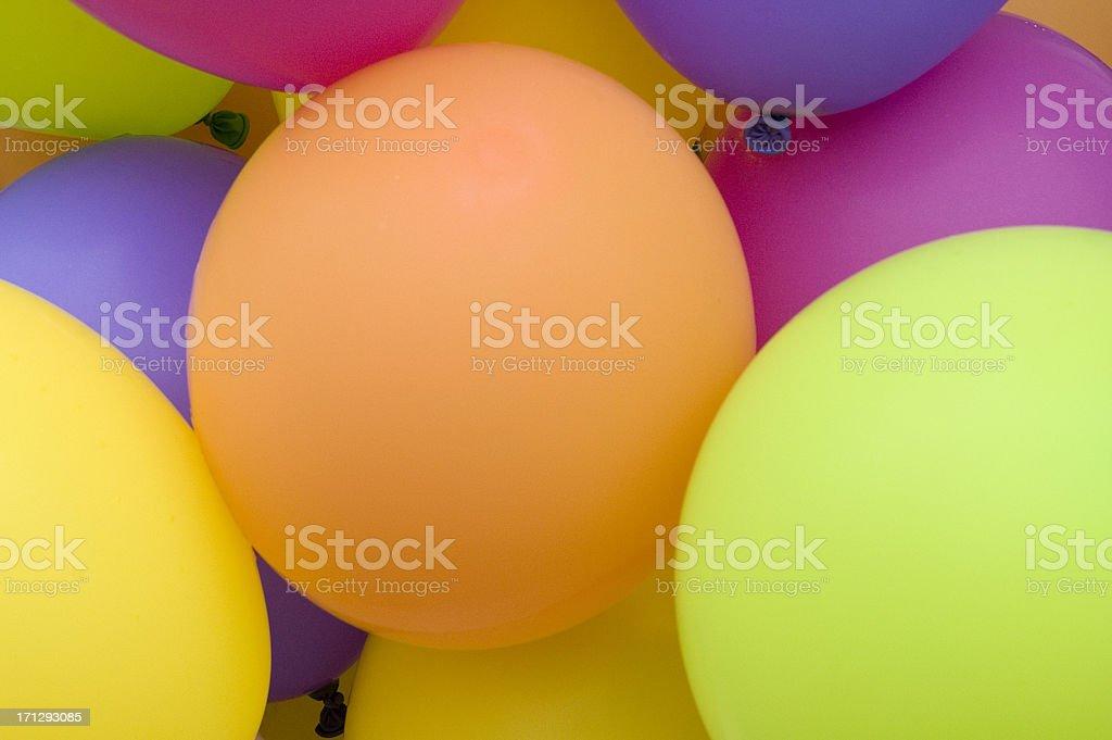 Balloons Background royalty-free stock photo