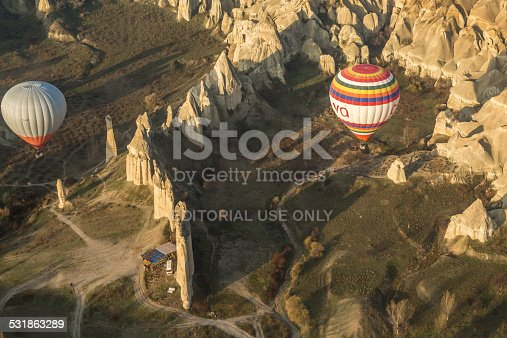 istock balloons close to the ground and the fairy chimes 531863289