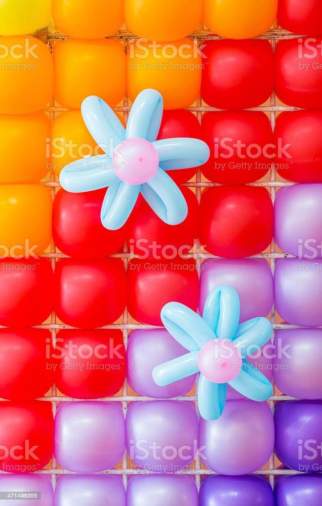 Balloons Decoration royalty-free stock photo