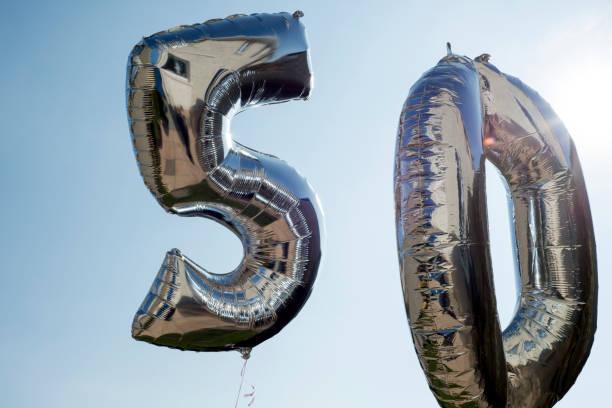 Ballons für einen 50. – Foto