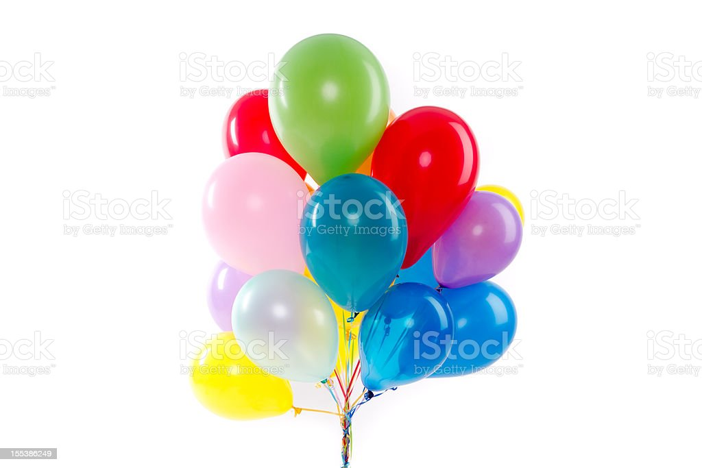Balloons for a party royalty-free stock photo