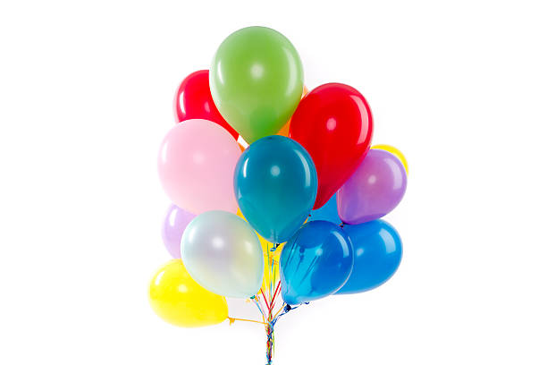 Balloons for a party stock photo