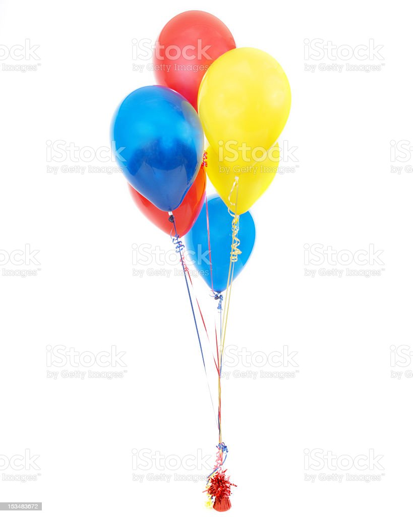 balloons group royalty-free stock photo