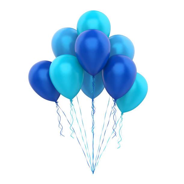 ballons isoliert - bund stock-fotos und bilder