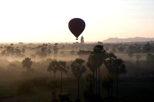 Balloons over Bagan - Photo