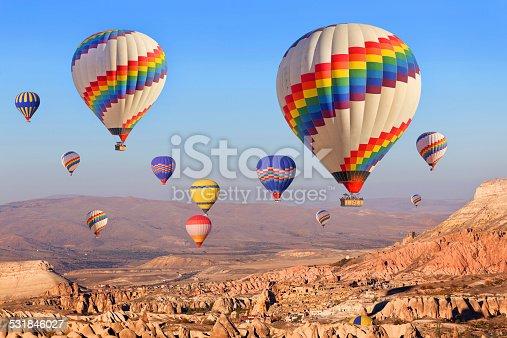 515376634 istock photo Balloons over Cappadocia. 531846027