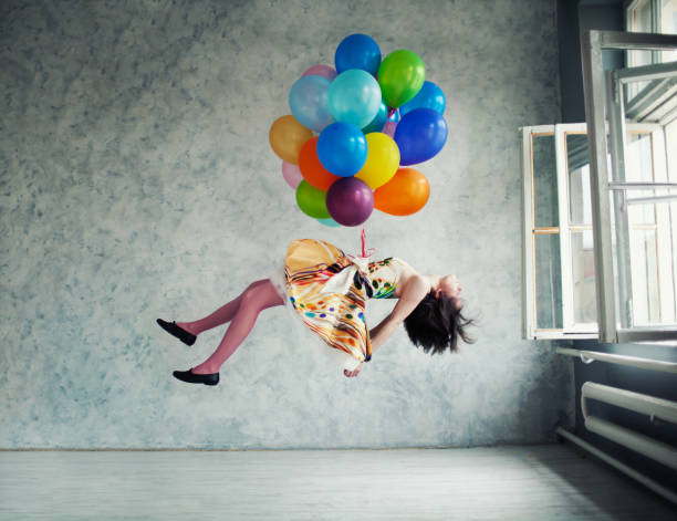 balloons - on air stock photos and pictures
