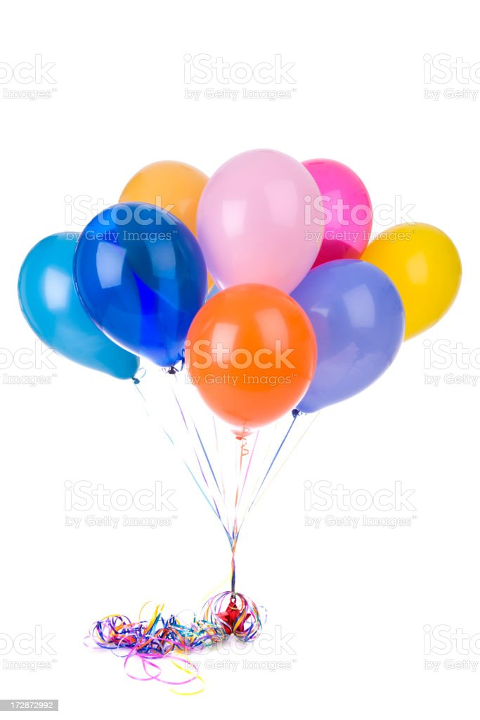 Balloons (XL) stock photo