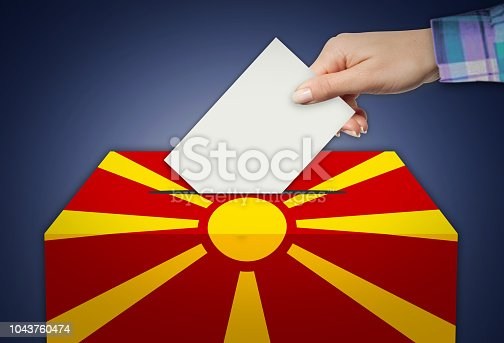 935056316istockphoto Ballot Box - Election - MACEDONIA 1043760474