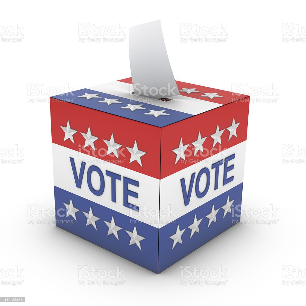 Ballot Box stock photo