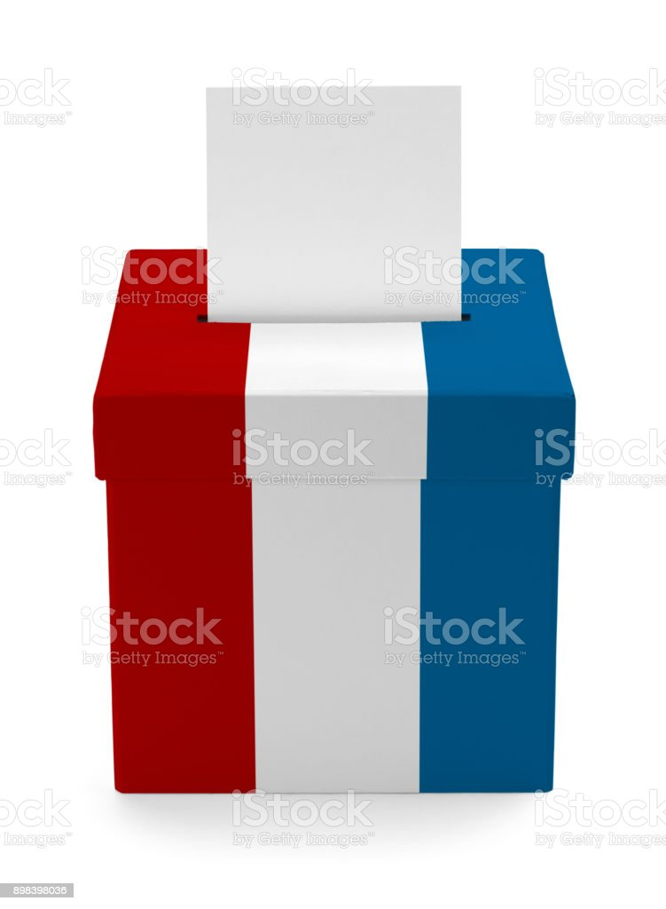 USA Ballot Box stock photo