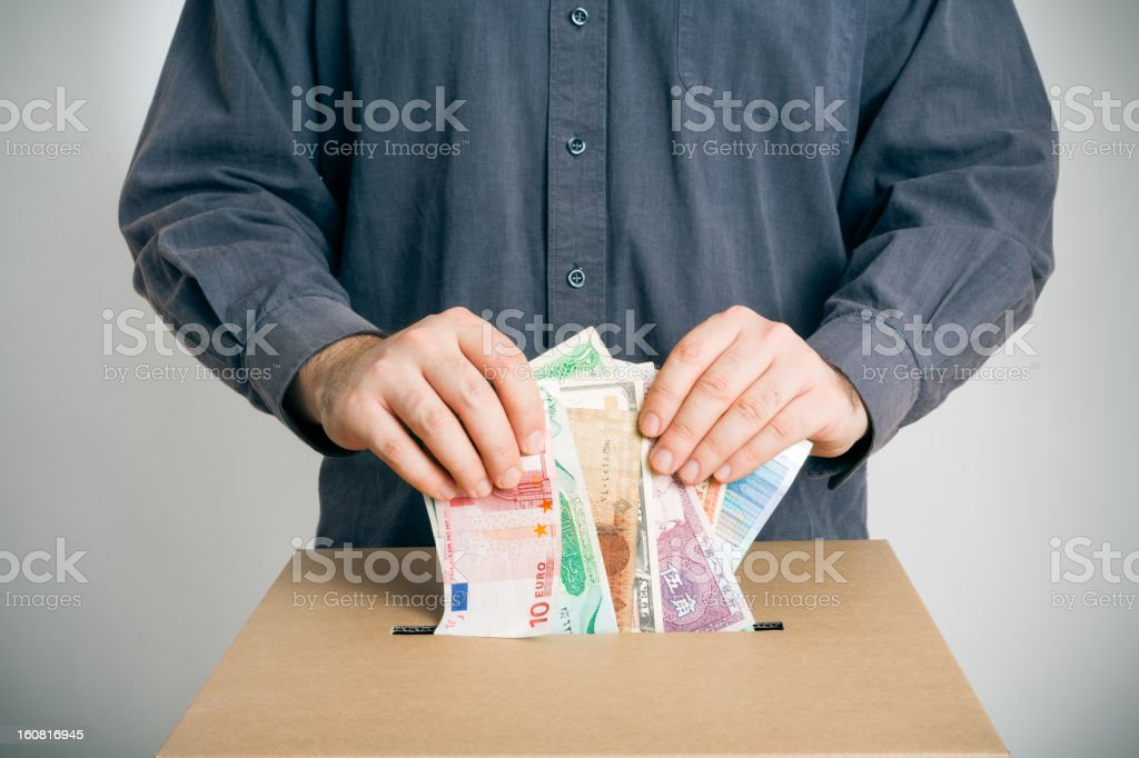ballot rigging royalty-free stock photo