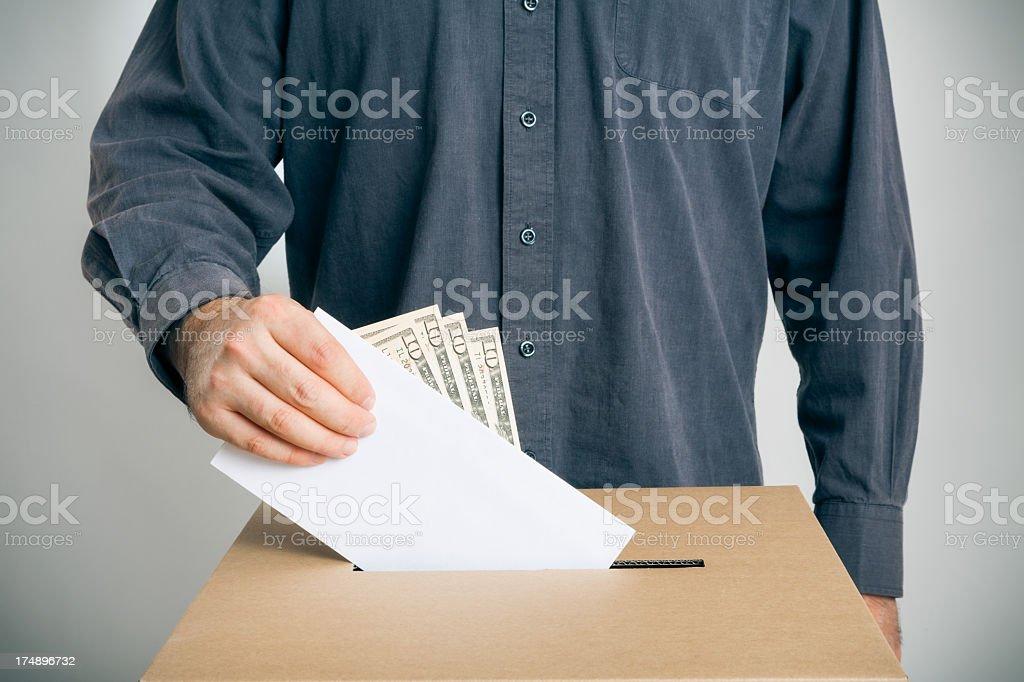 ballot rigging stock photo