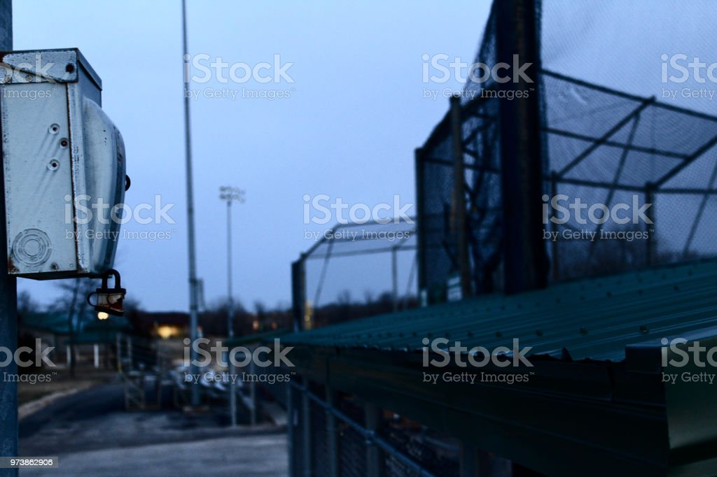 Ballpark Electrical stock photo
