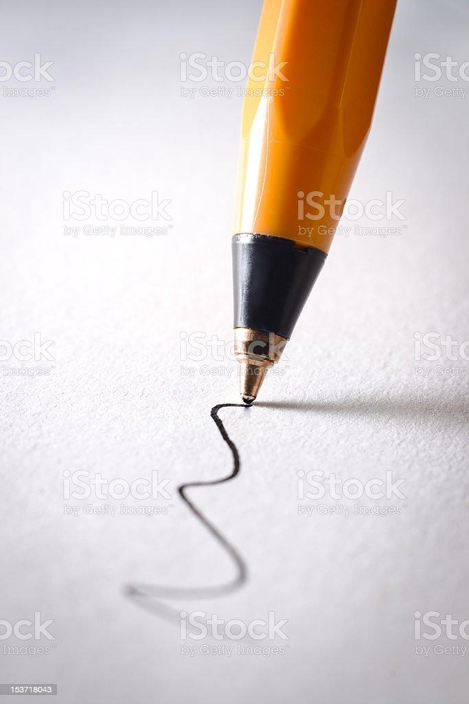 ballpoint pen royalty-free stock photo
