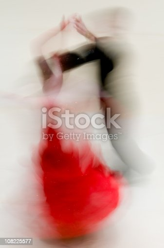 istock Ballroom dancers abstract 108225577