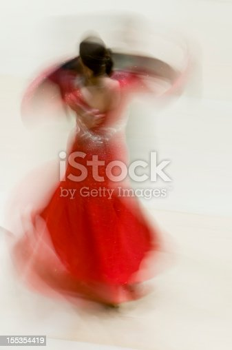 istock Ballroom dancers abstract 155354419