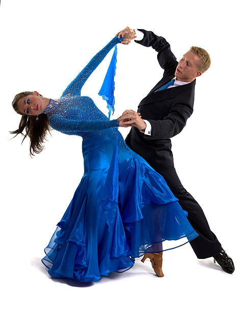 Ballsaal Dancers Blau – Foto