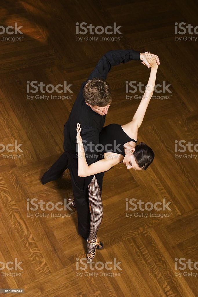 Ballroom Dancers royalty-free stock photo